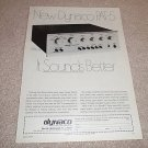 Dynaco PAT-5 Preamp Ad from 1975, RARE! Nice!