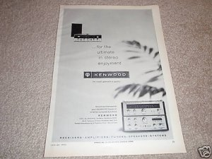 Kenwood Amp/Tuner/Receiver Ad from 1970