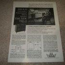 University Speaker Ad from 1959,TMS-2 Mono/Stereo Elman