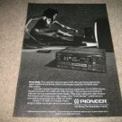 Pioneer VSX-9300s RECEIVER Ad from 1989