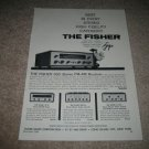 The Fisher 600 TUBE Receiver Ad rom 1959,400-CA,X-101A