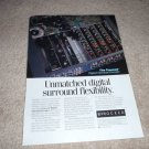 Proceed Digital Surround Decoder Ad 1997,inside view!