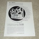 Newcomb TX10 Open Reel Ad, 1964, Article, Features