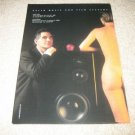 Mark Levinson in Cello Ad from 1996, Nude, NICE!