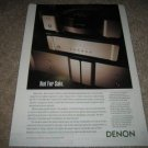 Denon Dp-S1,DA-S1,POA-S1 Amp,CD,Not for Sale! Ad  1994