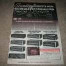 Soundcraftsmen AE2420-r, other EQ Ad from 1980