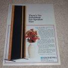 Magnepan Magneplanars Ad, 1995,Article, Rare 1995 Ad!