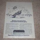 Sony STR-6036 Receiver Ad, 1972, Article, Rare Ad! 1972