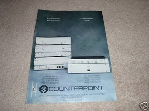 Counterpoint SA-9/11 Pre, SA-4 Amp, Solid 8,Solid 1 Ad