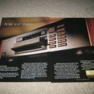 Pioneer Elite CD Player AD from 1989,PD-71,2 pages!