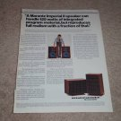 Marantz Imperial 8 Speaker Ad, 1975, Article, Amazing!