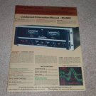Soundcraftsmen MA5002 Amplifier AD, 1977,Specs,Articles