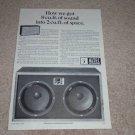 Altec 890a Bolero Speaker Ad, Very Rare! 1966, Article