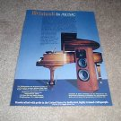 McIntosh XR 1052 Speaker AD from 1990,Rare!