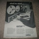 Revox B77 Reel to Reel Ad from 1979, perfect!