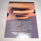 Westlake Audio SM-1F Speaker AD,VERY RARE! 1993