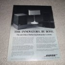 Bose 901, 501, 301 Innovators Speaker AD from 1975