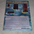 Westlake Audio SM-1,Lc265.1,BBSM10f,Lc6.75 Spkr Ad,1998