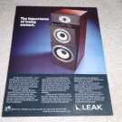 Leak 3080 Speaker Ad,Article,3000 series,RARE!