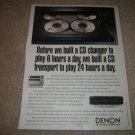 Denon DCM-520 AD from 1991 DCM 320 DCM 420