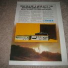 Fisher ACS1535 System AD from 1978 Cass,Turn, 8 trk