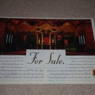 JBL 2 page Ad, 1994,Article, JBL Home Theater Ad, NICE!