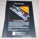 Perreaux SM2 Preamp Ad, Inside view, RARE! sm-2