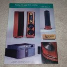 Legacy Whisper, Convergance, Amplifier Ad,1995,Frame it