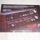 "Tandberg TIA 3012 Pre, 3001a Tuner Ad, 1985 6""x8"""