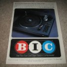 BIC Turntable Ad from 1979,80Z Changer,color!