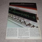 Sony 7065 Receiver Ad,1973,Article,color, Nice!