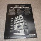 Panasonic SA-4000,6500,70,60,50,40 Receiver Line Ad '70