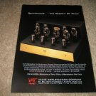 VAC Renaissance TUBE Amp Ad from 1994,beautiful! RARE!