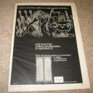 BOZAK Concert Grand Speaker Ad from 1968,NICE AND RARE!