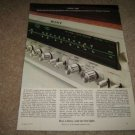SONY 7065 Receiver Ad from 1973,color,QUAD