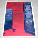 SAE System Ad from 1979,2600,3000,8000,Amplifier, RARE