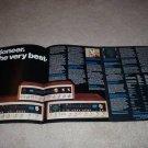 Pioneer 4 page Ad, QUAD! Qx-747,646,949, Full Specs