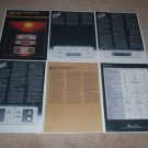 Phase Linear Series II Preamps Brochure, 6  pgs, 1979
