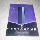 Apogee Centaurus Speaker Ad from 1990, beautiful!