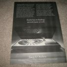 Bang & Olufsen Beogram 4002 Turntable Ad from 1975