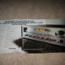 Pioneer SX-650 Receiver Ad from 1978,4 pages! mint
