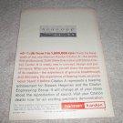Harman KArdon Citation A Amplifier Ad from 1962, RARE!
