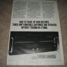 ADC Soundshaper Two Mk II Ad from 1981