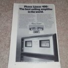 "Phase Linear 400 Power Amp Ad, 1977, Article, 6""x9"""
