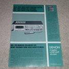 Denon DR-330,320 Cassette Deck Ad,Article,1981