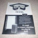 Bozak B-310b,B-201 Speaker Ad from 1975, very rare!