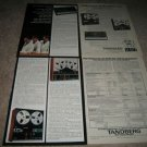 TANDBERG 6 page Ad! Color,specs,Receivers,Tape,Perfect!