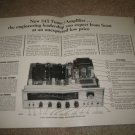 Scott 345 Receiver Ad from 1964,3 pages,TUBES,Specs