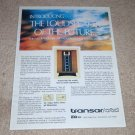 ESS Heil Transar Speaker Ad from 1978,Article, Rare Ad!