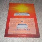 Counterpoint SA-5000,SA-220 Amp,Ad fr 1990,Tubes! Rare!